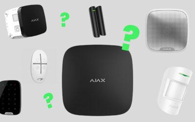 Kako izbrati Ajax Alarm komponente za zaščito, ki jo potrebujete