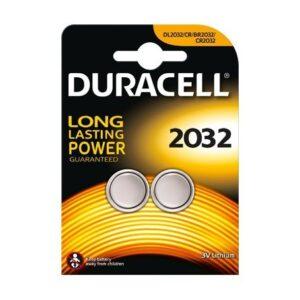 Duracell CR2032 3V/180 mAh 2 kosa